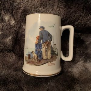 Other - Norman Rockwell Looking Out To Sea Mug